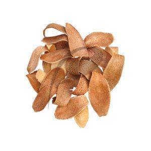 NATURAL DRIED PLANTS PARTS MEHOGANY SPOON UNSCENTED POTPOURRI