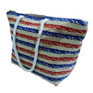 Pp Laminated Natural Juco Fabric Tote Bag