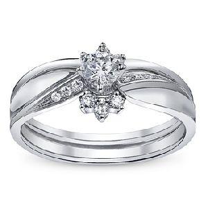 Gold Studded Wedding Ring