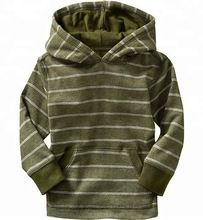 Striped Pullover Hoodies For Boys