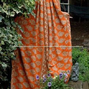 Indian Patchwork Reversible Kantha Quilts