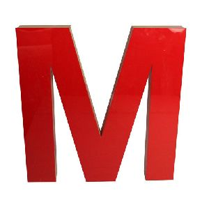 Acrylic Sign Board Letter