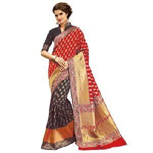 Self Design Bollywood Banarasi Silk Saree