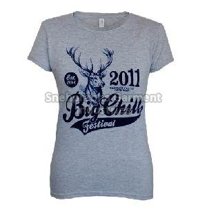 Ladies Printed T-shirts