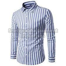 Mens Striped Formal Shirts