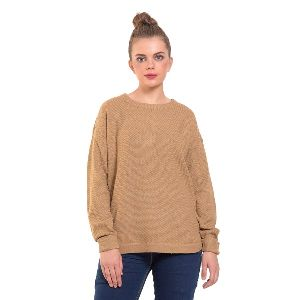 Back Zipper Sweater For Women