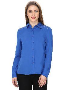 Women Lace Detailed Shirt