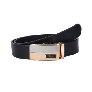 Classic Buckle Genuine Leather Belt