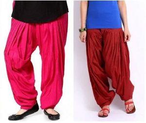 Ladies Stitched Patiala Salwar