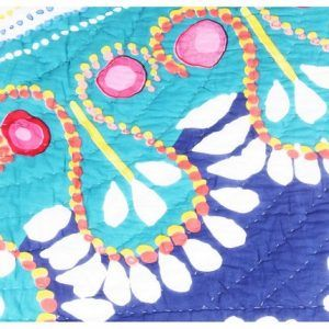 100% Cotton Reversible Quilt 90108 Inch King Size Digital Floral Print