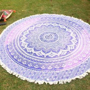 Beach Towel Hippie Yoga Mat