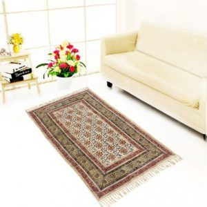 Indian Handmade Rug For Living Room,bedroom,and Dining Room, 35 Feet, Multi Color Jth-jud-04