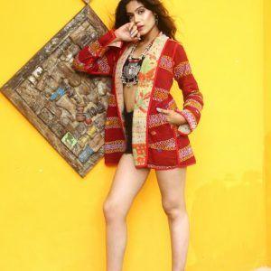 Jacket Reversible Kantha Quilt