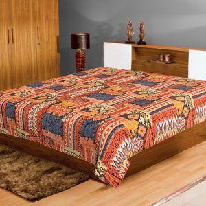 Jaipur Textile Hub Handmade Vintage Cotton Kantha Quilt Gudri Bed Cover SGG-52