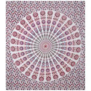 Jaipur Textile Hub Indian Traditional Print Mandala Tapestry 85100 Inch