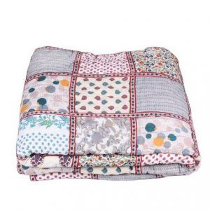 Reversible Patchwork Quilt King Size 100% Cotton 90108 Inch