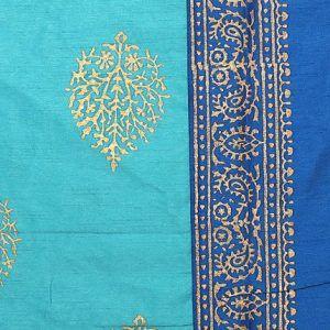Set of 5pc Silk Double Bedspread