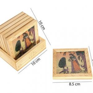 Gemstone Painting Tea Coaster Set