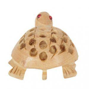 Tortoise Wood Handmade Hand Carved Turtle