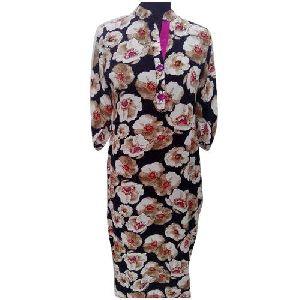 Ladies Flower Design Kurti