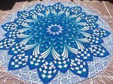 Flower Boho Mandala Blanket