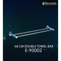 Bathroom Accessory - 60 CM Double Towel Bar