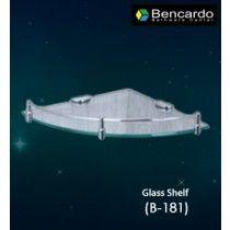 Bathroom Accessory - Corner Glass Shelf