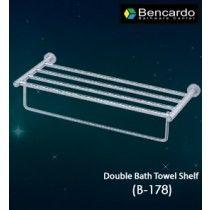 Bathroom Accessory - Double Bath Towel Self