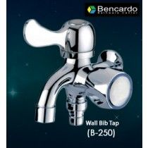 Bathroom Tap - Two Way Wall Bib Tap
