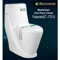 Wash Down One Piece Toilet C-721