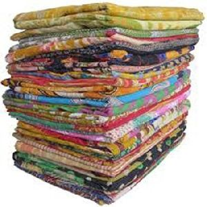 Cotton Kantha Quilt Bedspread