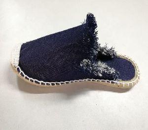 Men Canvas Espadrille Jute Sole Shoes