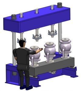 Ball Valve Test Machine
