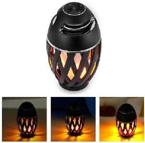 Portable LED Flame Bluetooth Speaker