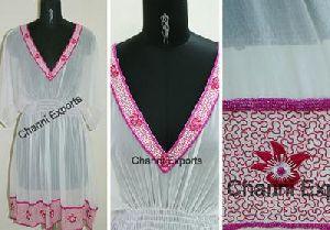 Famous Silk Chiffon Kaftan