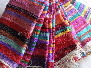 Indian Handmade Large Chindi Rugs