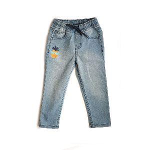 Boys Light Washed Denim Trouser