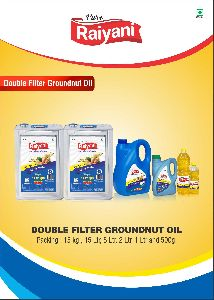 Double Filter Groundnut Oil