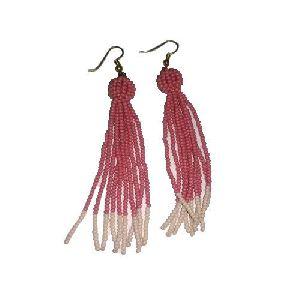 Ladies Beaded Earring