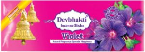 Devbhakti Violet Flower Incense Sticks