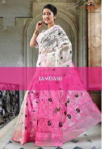 Ssaj002 Soft Jamdani Saree