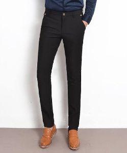 Mens Formal Black Trousers