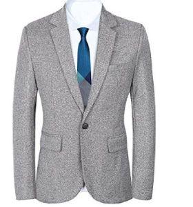 Mens Single Button Coat