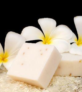 Organic Milky White  Bathing Soap