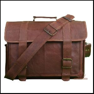 Office Leather Massenger Bag
