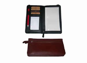 Brown Color Genuine Leather Travel Wallet