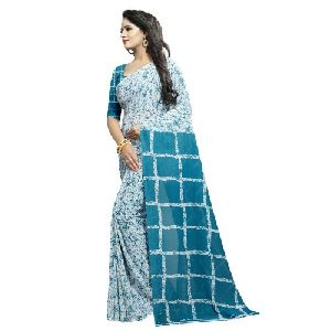736d93da97 Printed Georgette Sarees - Manufacturers, Suppliers & Exporters in India