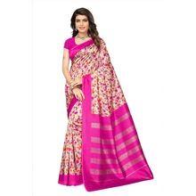 Mysore Silk Pink Saree