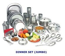 Stainless Steel Complete Dinner Kitchen Sets