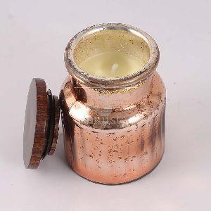 Copper Soya Wax Aroma Candle Jar
